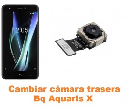 Cambiar cámara trasera Bq Aquaris X