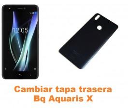 Cambiar tapa trasera Bq Aquaris X