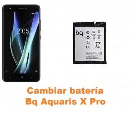 Cambiar batería Bq Aquaris X Pro