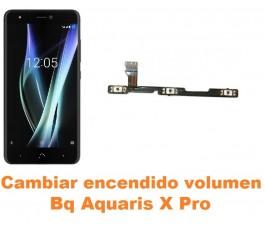 Cambiar encendido y volumen Bq Aquaris X Pro