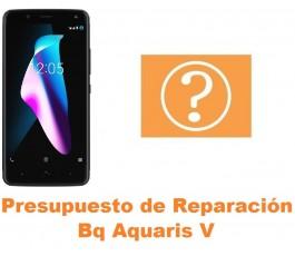 Presupuesto de reparación Bq Aquaris V