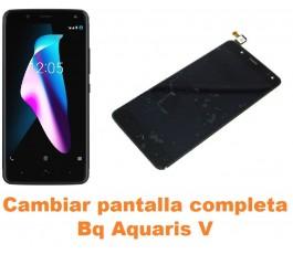Cambiar pantalla completa Bq Aquaris V