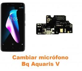 Cambiar micrófono Bq Aquaris V