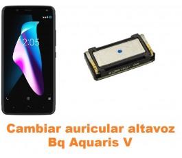 Cambiar auricular altavoz Bq Aquaris V