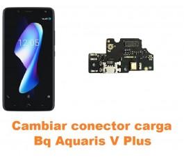 Cambiar conector carga Bq Aquaris V Plus