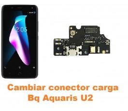 Cambiar conector carga Bq Aquaris U2