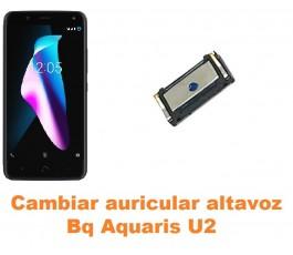 Cambiar auricular altavoz Bq Aquaris U2