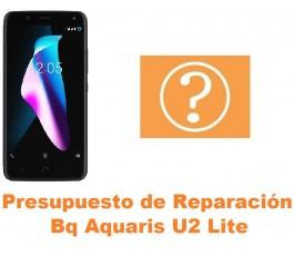 Presupuesto de reparación Bq Aquaris U2 Lite
