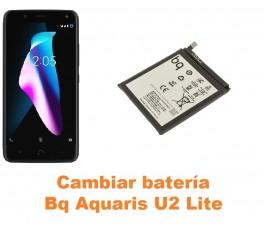 Cambiar batería Bq Aquaris U2 Lite