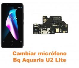 Cambiar micrófono Bq Aquaris U2 Lite