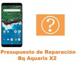 Presupuesto de reparación Bq Aquaris X2