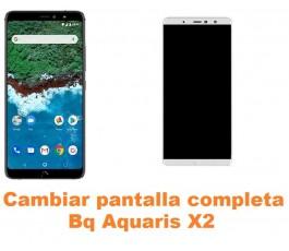 Cambiar pantalla completa Bq Aquaris X2