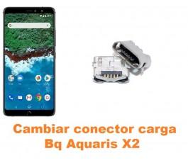 Cambiar conector carga Bq Aquaris X2