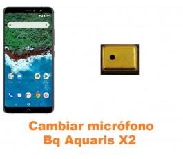 Cambiar micrófono Bq Aquaris X2