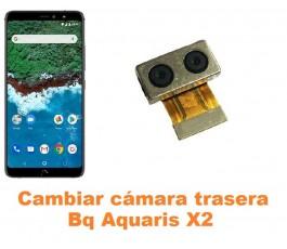 Cambiar cámara trasera Bq Aquaris X2