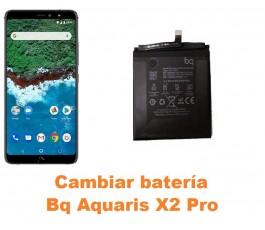 Cambiar batería Bq Aquaris X2 Pro