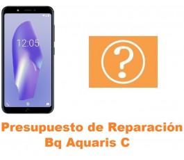 Presupuesto de reparación Bq Aquaris C