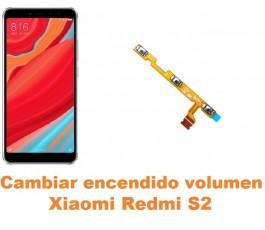 Cambiar encendido y volumen Xiaomi Redmi S2