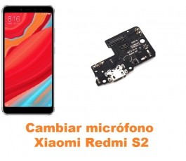 Cambiar micrófono Xiaomi Redmi S2