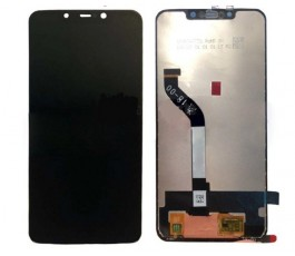 Pantalla completa táctil y lcd para Xiaomi Pocophone F1 negra