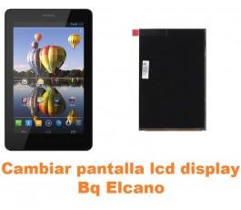 Cambiar pantalla lcd display Bq Elcano