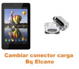 Cambiar conector carga Bq Elcano