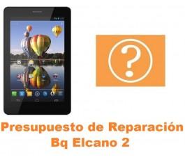 Presupuesto de reparación Bq Elcano 2