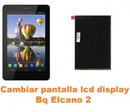 Cambiar pantalla lcd display Bq Elcano 2