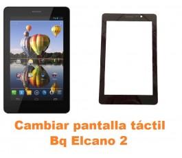 Cambiar pantalla táctil cristal Bq Elcano 2