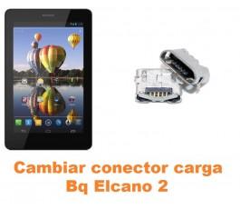 Cambiar conector carga Bq Elcano 2