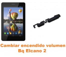 Cambiar encendido y volumen Bq Elcano 2