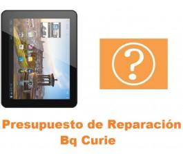 Presupuesto de reparación Bq Curie