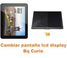 Cambiar pantalla lcd display Bq Curie
