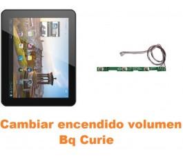 Cambiar encendido y volumen Bq Curie