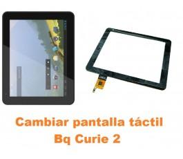 Cambiar pantalla táctil cristal Bq Curie 2