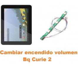 Cambiar encendido y volumen Bq Curie 2