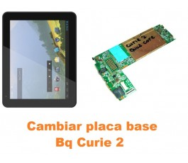 Cambiar placa base Bq Curie 2