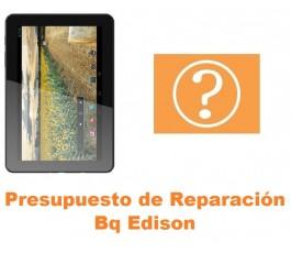 Presupuesto de reparación Bq Edison