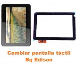Cambiar pantalla táctil cristal Bq Edison