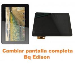 Cambiar pantalla completa Bq Edison