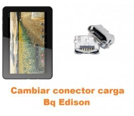 Cambiar conector carga Bq Edison