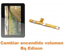 Cambiar encendido y volumen Bq Edison