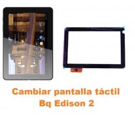 Cambiar pantalla táctil cristal Bq Edison 2
