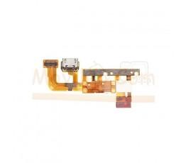 Flex Conector de Carga Microfono  y Sensor de Proximidad para Huawei Ascend P6 - Imagen 1
