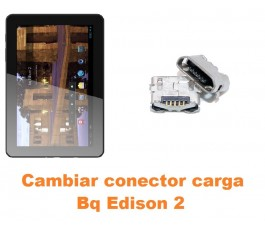 Cambiar conector carga Bq Edison 2