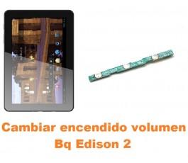 Cambiar encendido y volumen Bq Edison 2