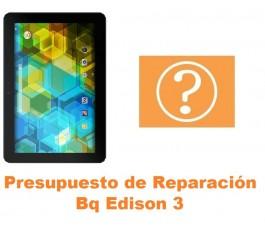 Presupuesto de reparación Bq Edison 3