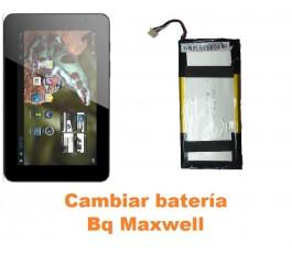 Cambiar batería Bq Maxwell