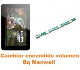 Cambiar encendido y volumen Bq Maxwell