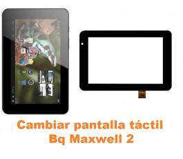 Cambiar pantalla táctil cristal Bq Maxwell 2